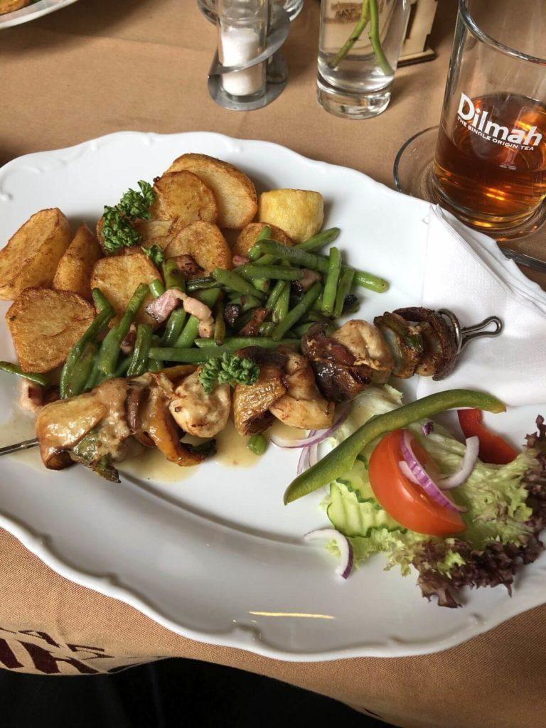 Restaurace Metternich menu