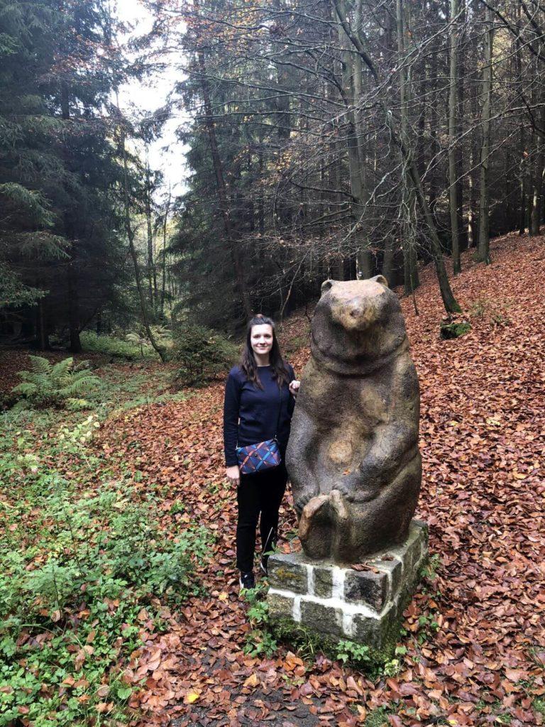 Socha medvěda