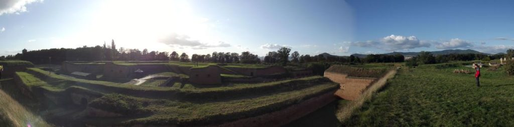 Velká pevnost panorama