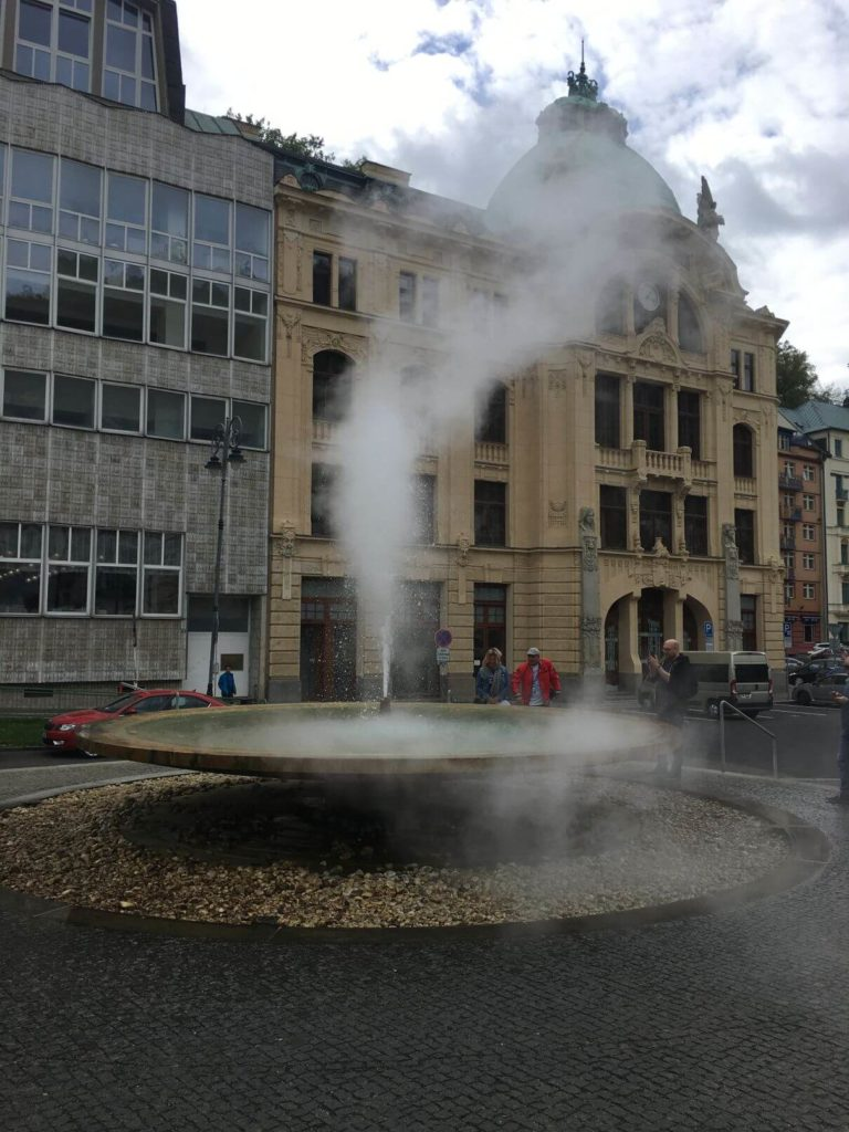 Vřídlo Karlovy Vary