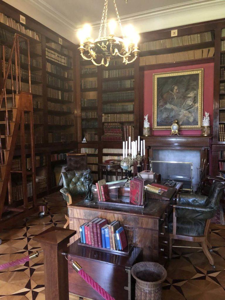 Zámek Kynžvart knihovna
