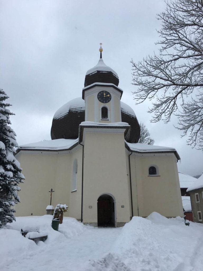 Železná Ruda kostel