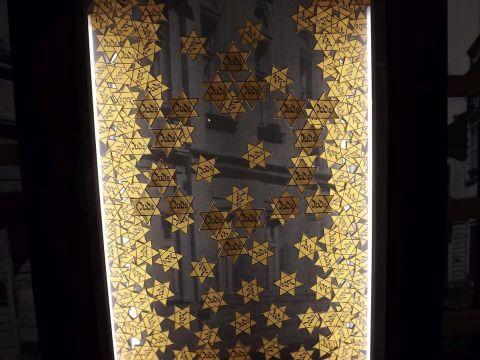 Židovské hvězdy muzeum Ghetta