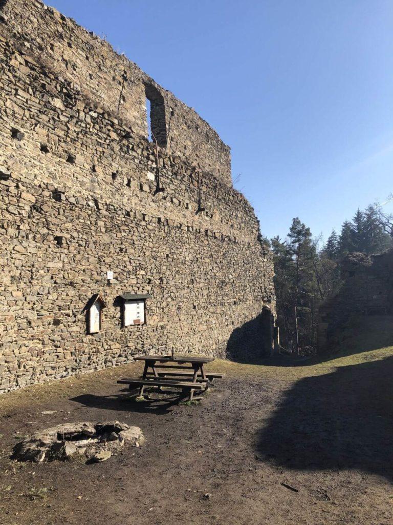 Buben hradby