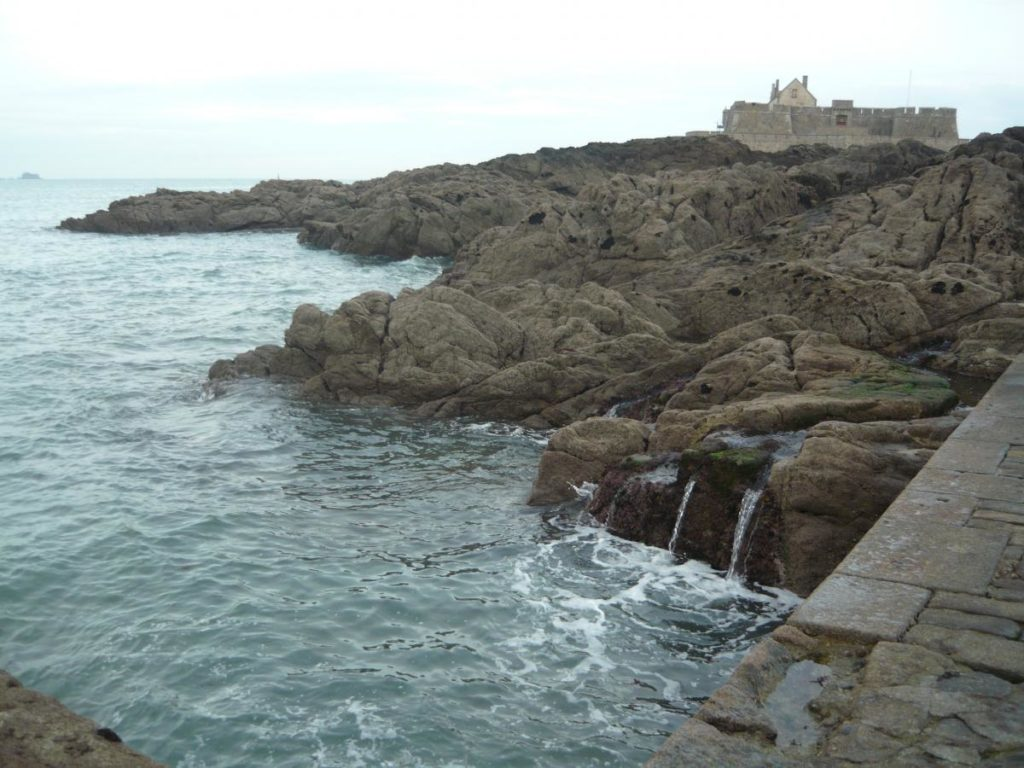 Cesta na pevnost Saint Malo