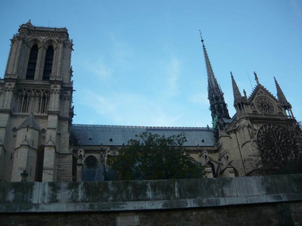 Katedrála Notre Dame Paříž