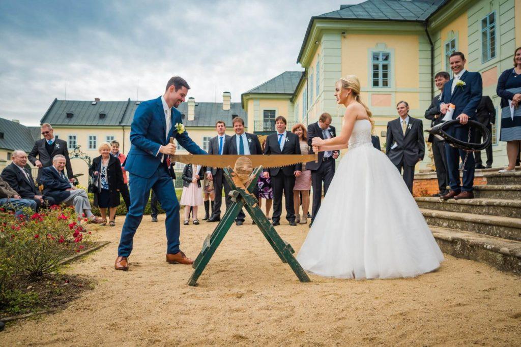 Manětín svatba