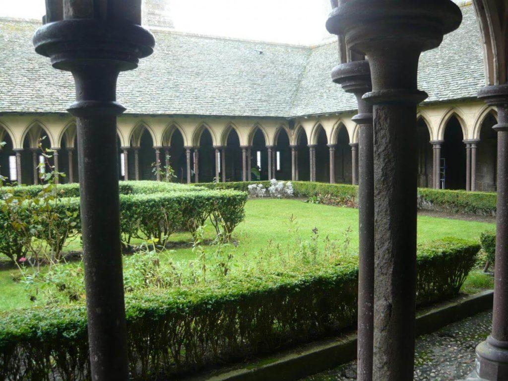 Nádvoří kláštěr