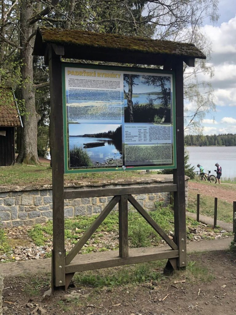 Padrťské rybníky info