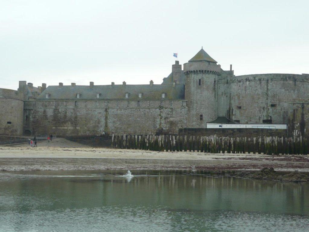 Saint Malo hradby