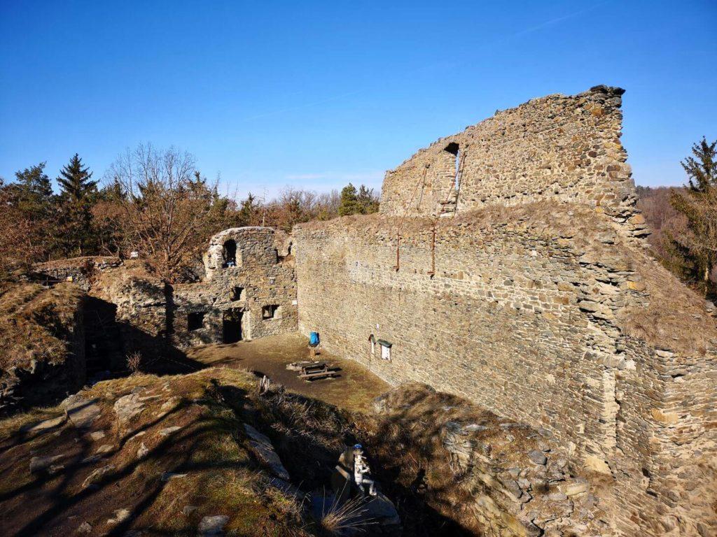 Zřícenina hradu Buben