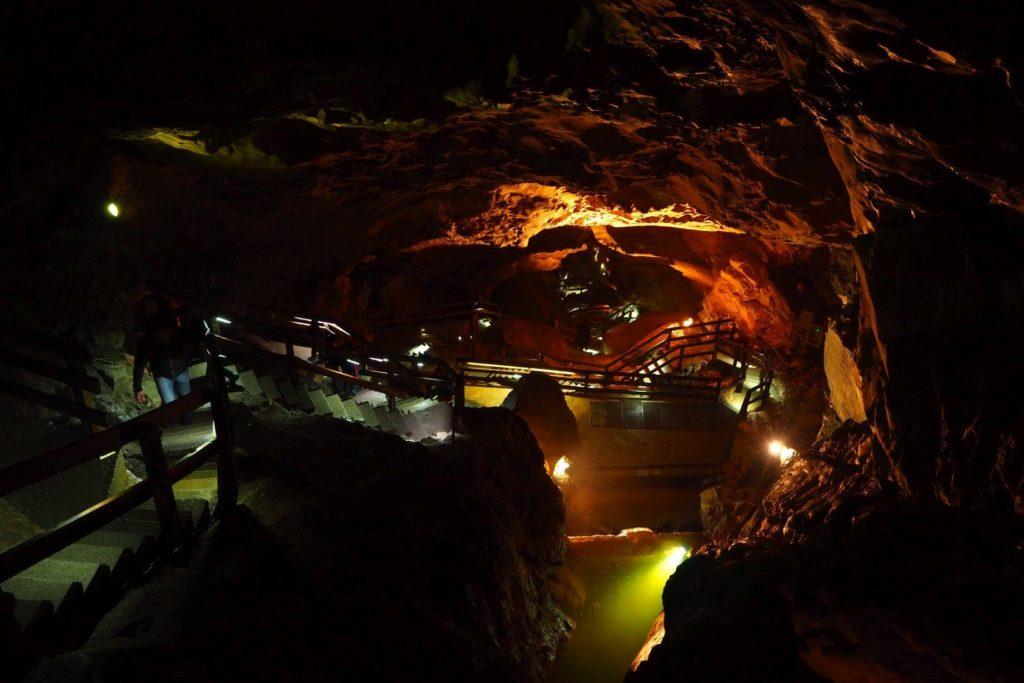 Jeskyně Lamprechtshöhle