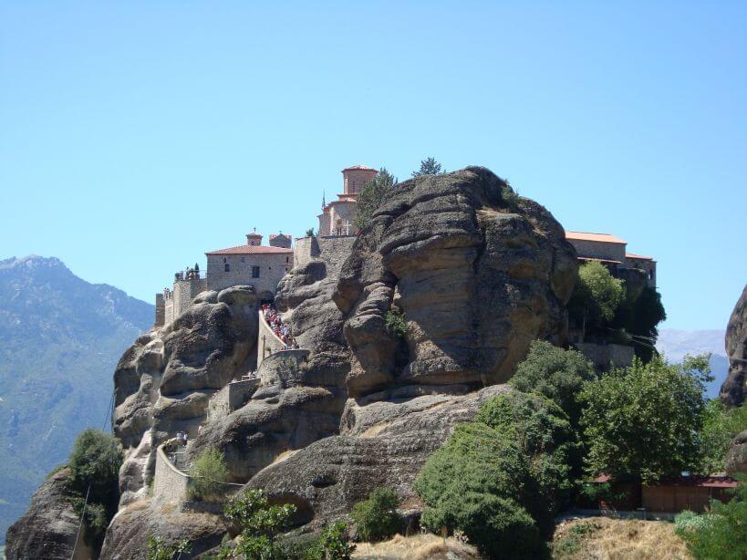 Kláštery Meteora Řecko