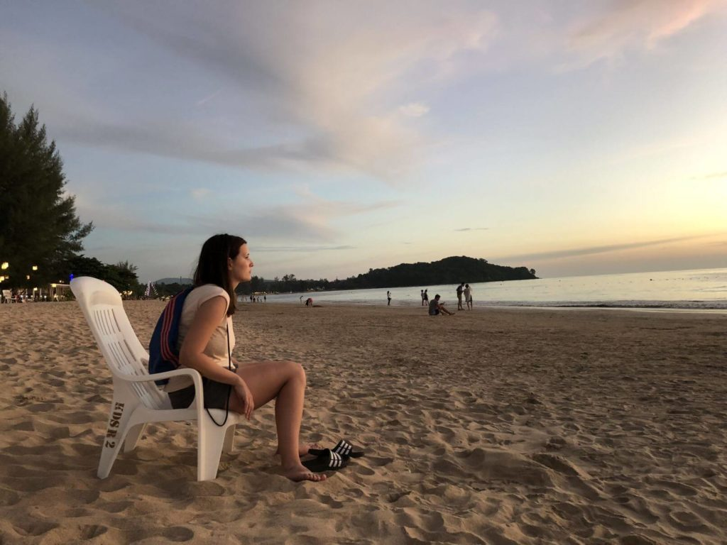 Koh Lanta na pláži