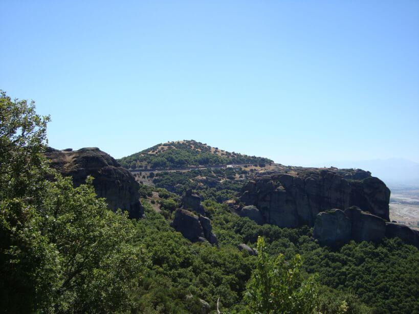 Meteora Řecko