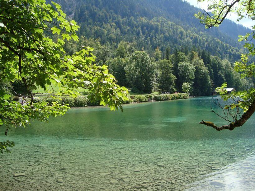 Na jezeře Alpsee