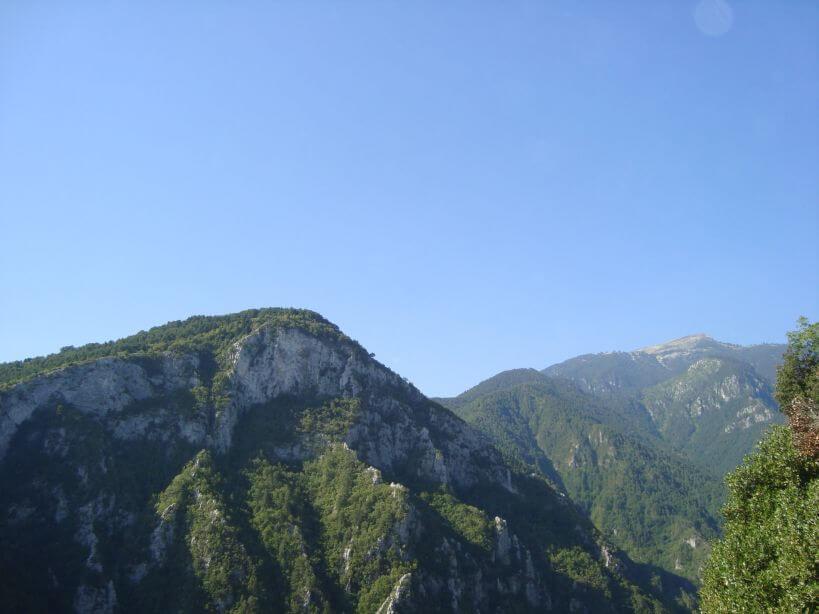 Olympské pohoří