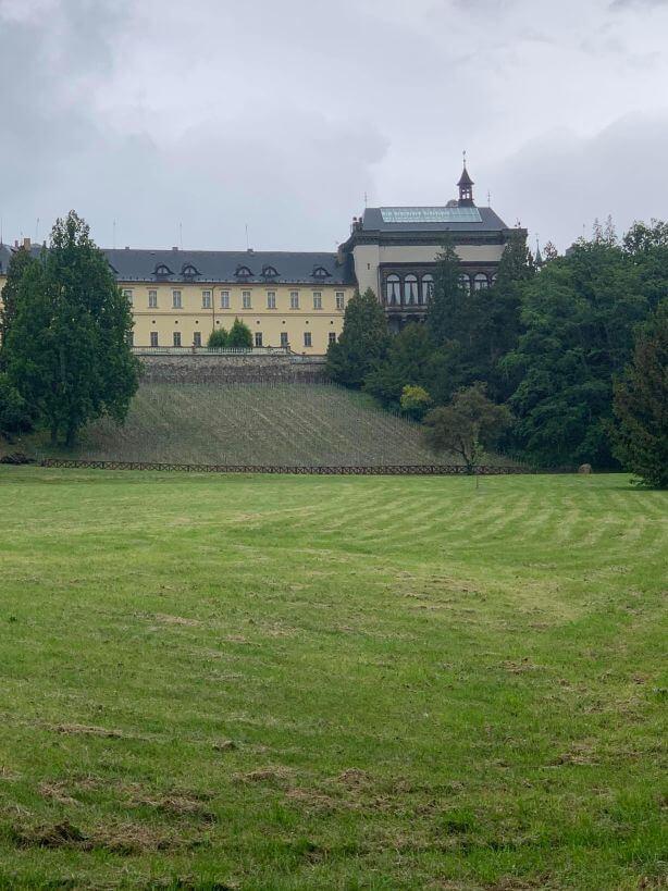 Park zámek Zbiroh
