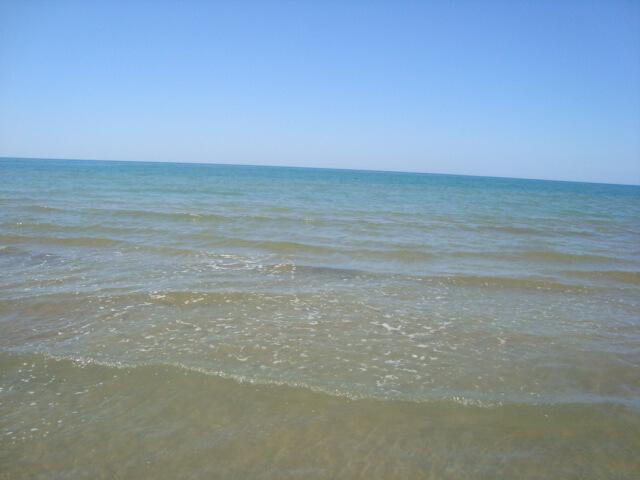 Písečná pláž Rodi Garganico