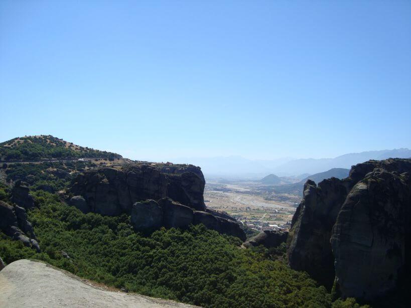 Pohled na Kalambaku