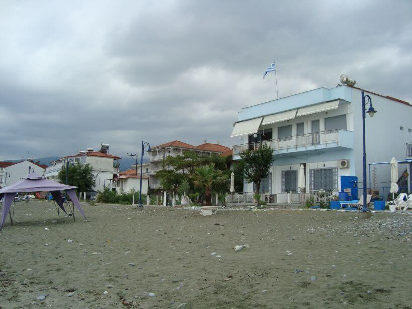 Řecko pláž