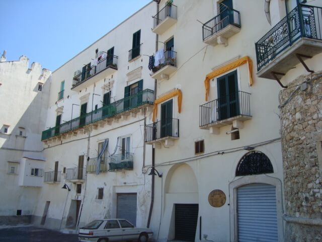 Stavby Garganico