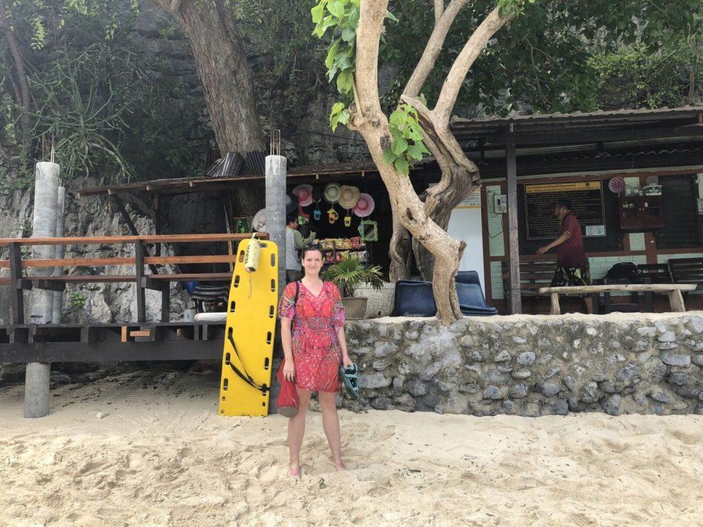 Vysazení na pláži