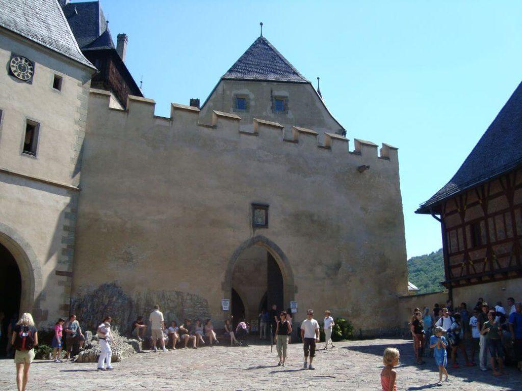 Karlštejn brána