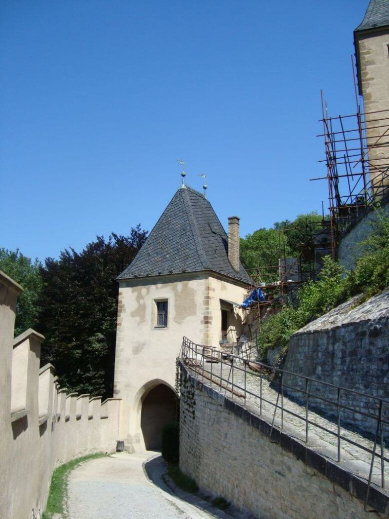 Karlštejn vstupní brána
