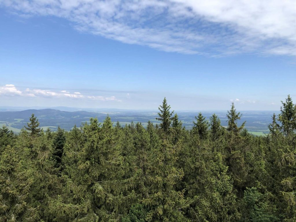 Kraví hora výhled