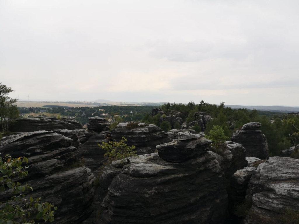 Panorama Tiských stěn