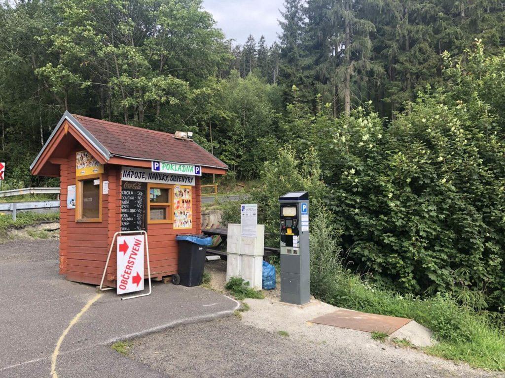 Parkování Ještěd automat