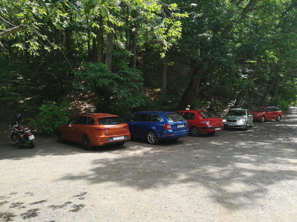 Pekelné doly parkování