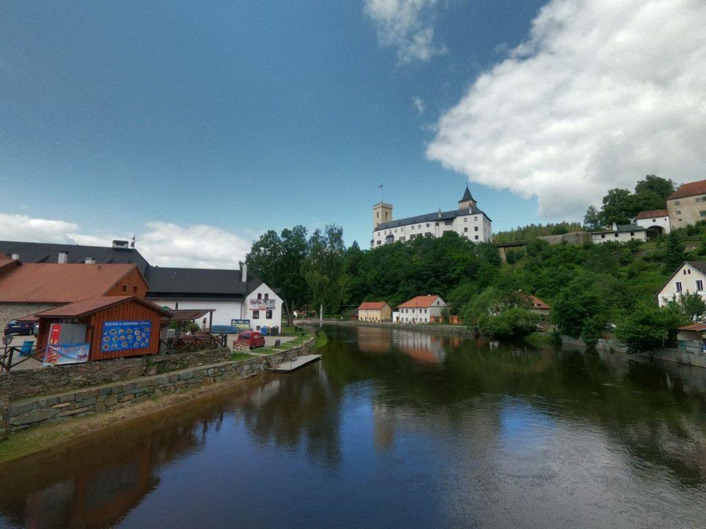 Řeka Vltava