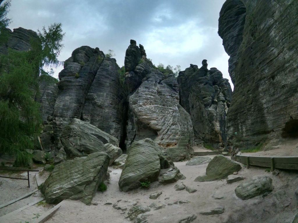 Tiské stěny panorama