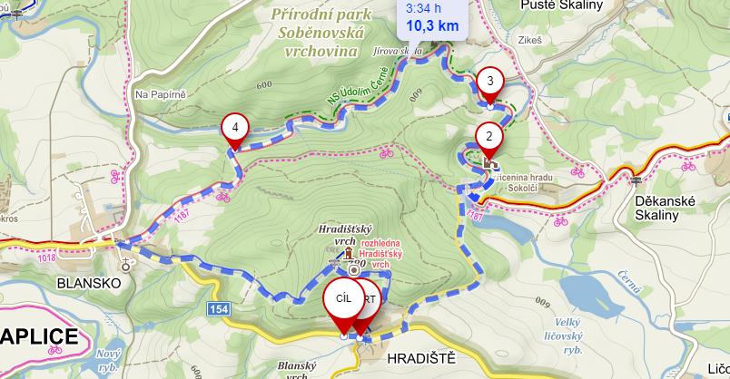 Trasa Sokolčí