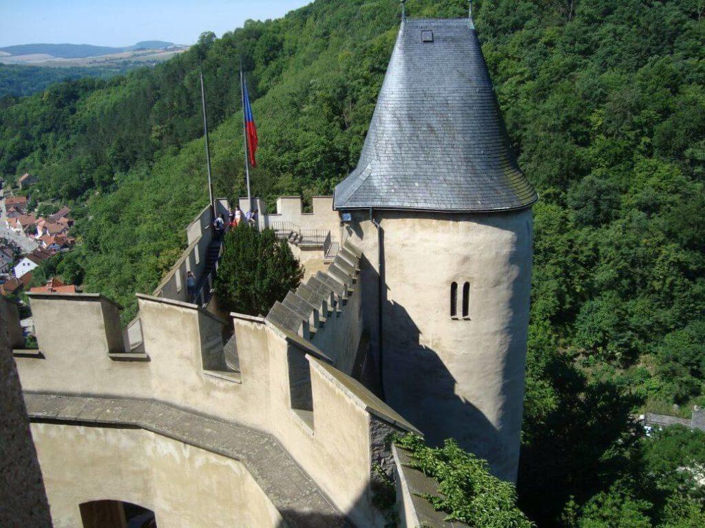 Věž hrad Karlštejn