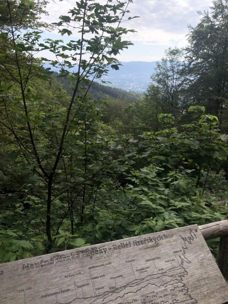 Vyhlídka na Liberec