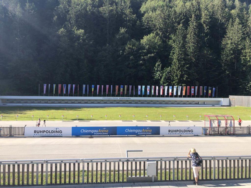 Biatlonová aréna Ruhpolding