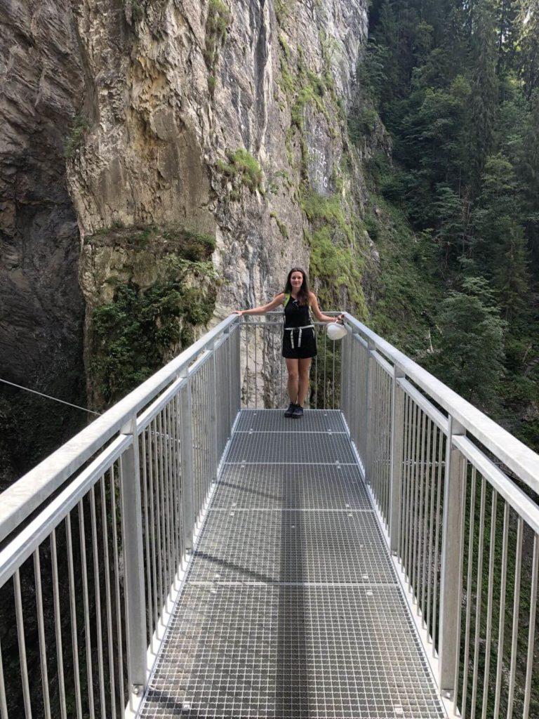 Mostík Kitzlochklamm