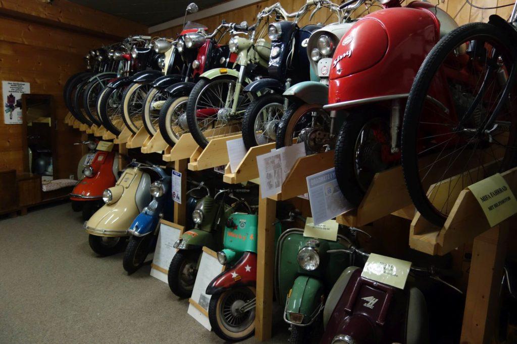 Muzeum veteránů motorky