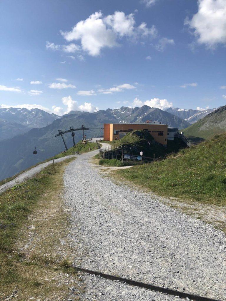 Na vrcholu Stubnerkogel