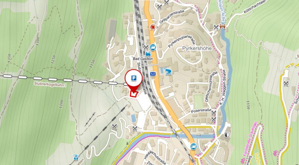 Parkování Gastein