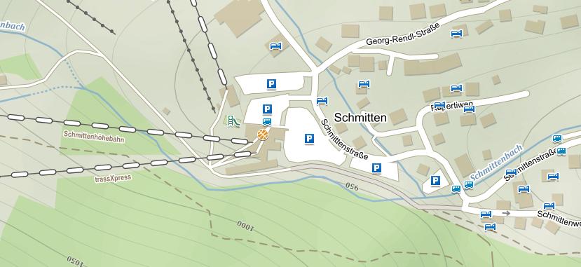 Parkování Schmitten