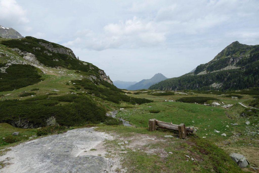 Pěšky z Weisssee