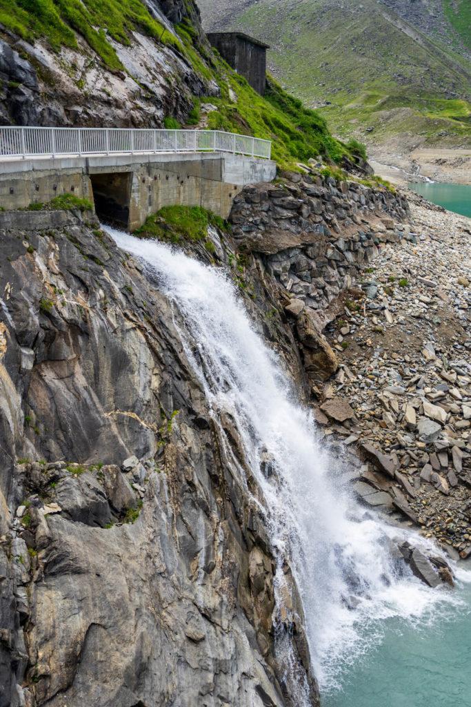 Přítok do přehrady