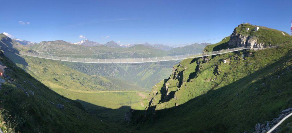 Visutý most panorama