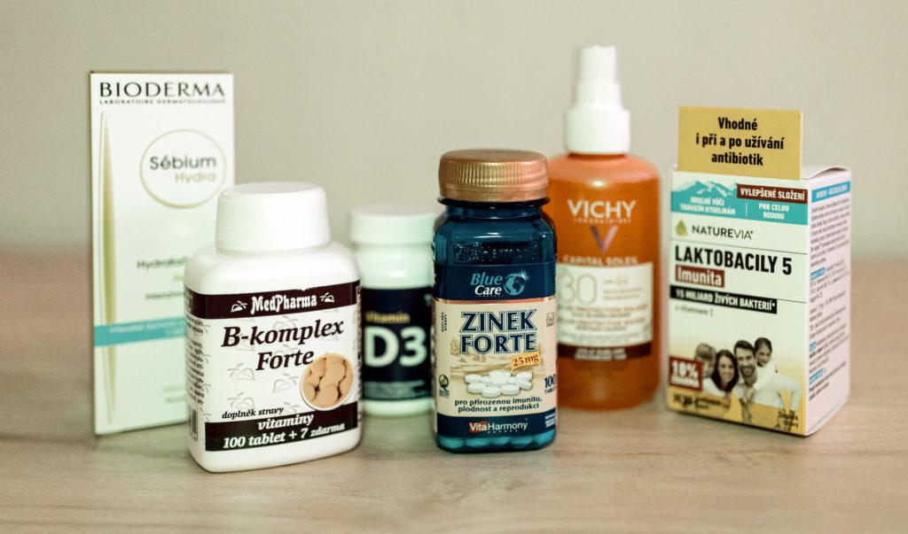 Vitamíny a péče o pleť