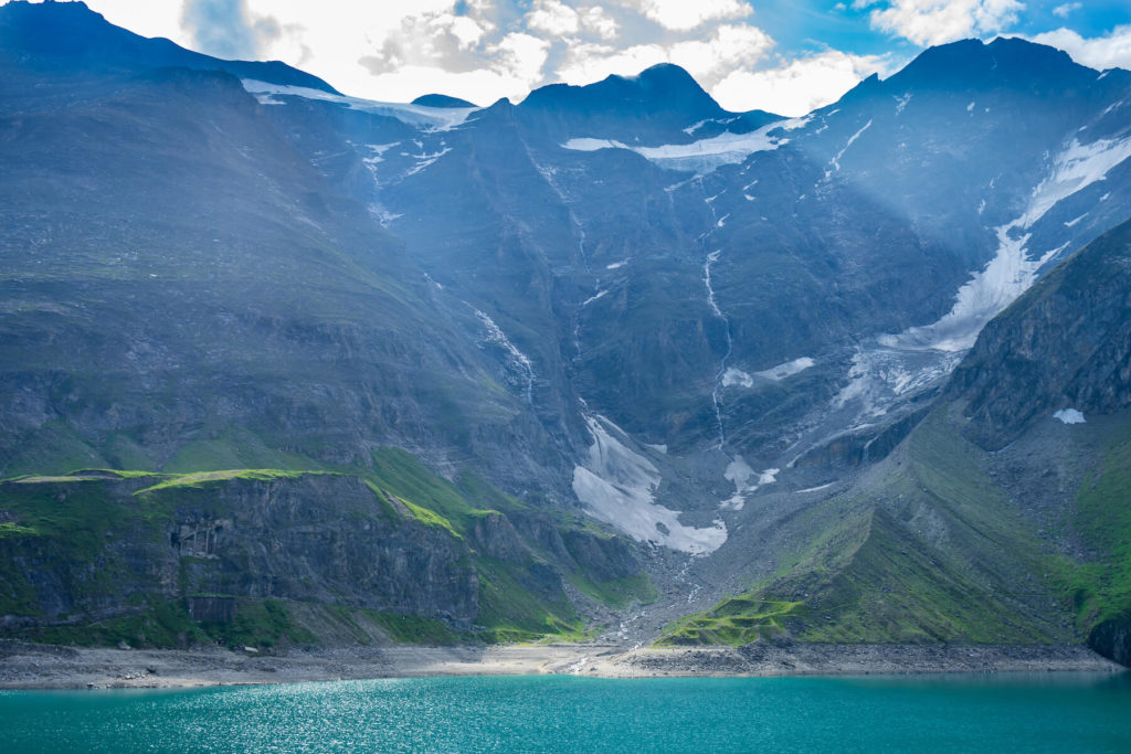 Vysoké Taury přehrady Kaprun