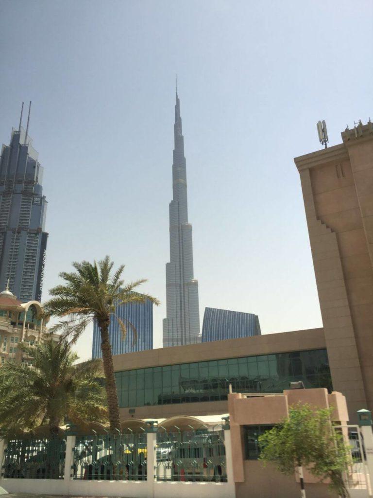Burj Khalifa z dálky